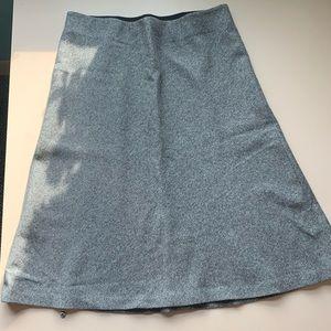Ann Taylor Soft Gray Skirt Sz. Small